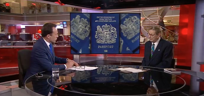 BBC TV Passports Martin Lloyd